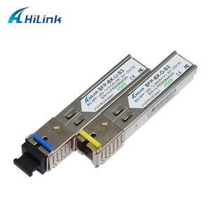 Image 1 - Livraison Gratuite! LC/SC 1G fibre simple WDM 1000BASE BX 1.25G 1310nm/1550nm 3km DOM BiDi SFP