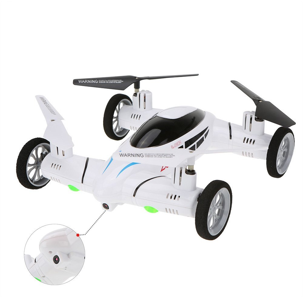 SY X25 2 4G font b RC b font Quadcopter Land Sky 2 in 1 UFO