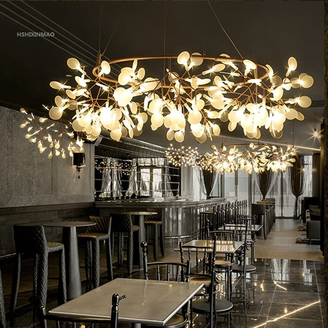 Free Ing Modern Nordic Style Living Room Bedroom Chandelier Creative Simple Home Or Commercial Place Ac85 265v