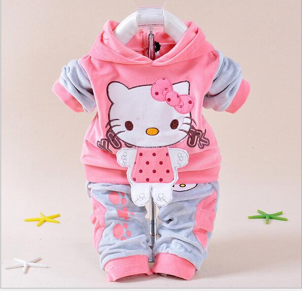 Baby Sweaters for Newborn 0-2T Flowers Pattern Winter Girls Flannel Christmas Hoodies Sweatshirts free send pants