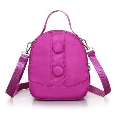 New 2018 Women Small Shopping bags!Hot Lady Casual Cute Shoulder&Handbags Versatile Oxford Mini Shell bags Top Light Carrier
