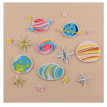 2017 New Summer Patches For Clothing Planet/universe/Space/Starry sky Series Embroidery Apparel Bag DIY Accessories