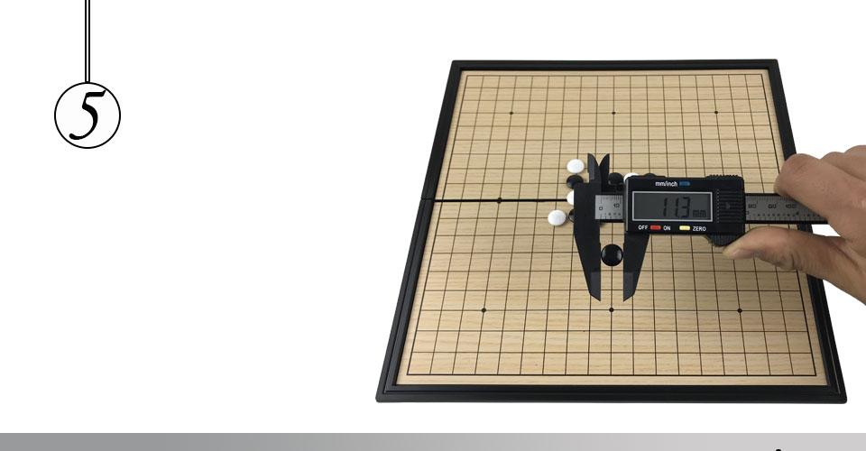 Do Jogo de Xadrez Preto e Branco Peças Weiqi Jogos Do Presente