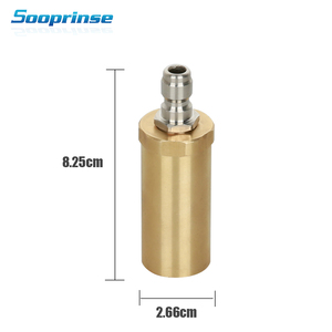 Image 3 - Sooprinse Car Wash Rotary nozzle turbo nozzle Nozzle High Pressure Soap car Wash Gun Foam Generator Car Goods Auto Accessories