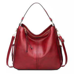 Image 4 - 2020 خمر المرأة الكتف حقيبة كروسبودي الإناث العلامة التجارية حقائب اليد الكبيرة عالية الجودة بولي Leather جلد السيدات المتشرد حقيبة ساعي كيس