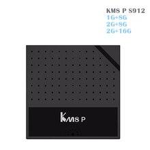 KM8P ТВ коробка Android 6.0 Amlogic S912 ТВ коробка Восьмиядерный H.265 4 К 1 г + 8 г/ 2 г + 8 г/2 г/16 г 2.4 г Wi-Fi KM8 P Media Player Декодер каналов кабельного телевидения