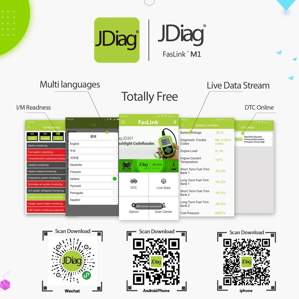 JDiag Faslink M1 App