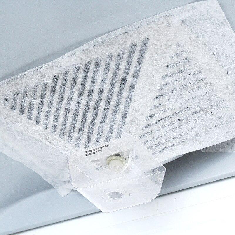 2 pzborsa nuovo cappa olio assorbente del cotone tessuto non tessuto di carta