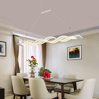 Modern Led Pendant Lights Dinning Living Room AC90 260V Acrylic Pendant Lamp For Home Lighting Living