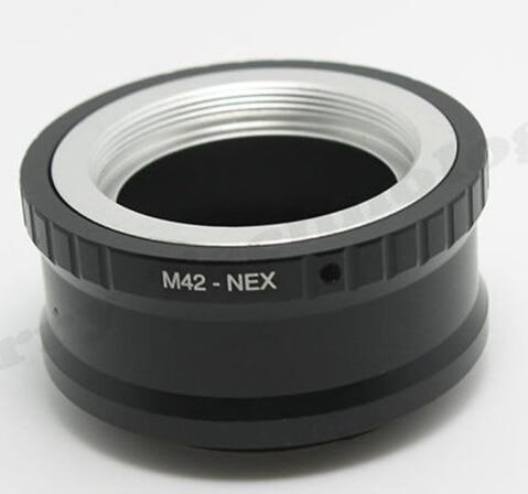 Линзаны орнату адаптері M42-NEX 10X M42 объективтері үшін және SONY NEX E корпус NEX3 NEX5 NEX5N NEX7 NEX-C3 NEX-F3 NEX-5R NEX6