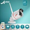 Onvif P2P 1080 P Câmera IP WI-FI H.264 HD Câmera de Vigilância de Vídeo CCTV Visão Nocturna do IR de Segurança Remoto Sem Fio Ao Ar Livre câmera
