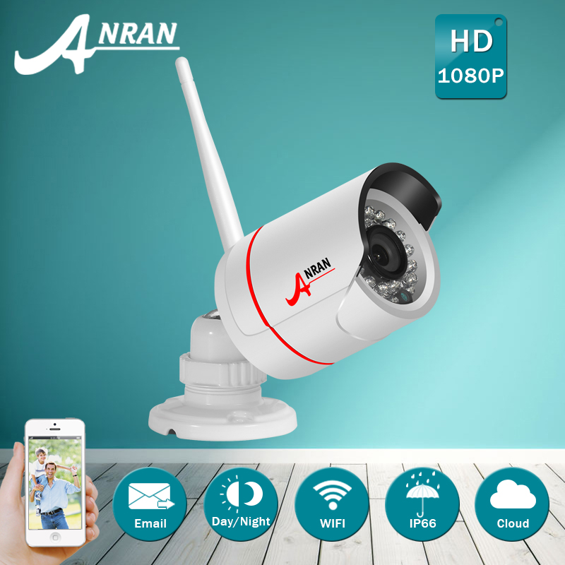 ФОТО Onvif P2P 1080P IP Camera WIFI H.264 HD Video Surveillance Camera Remote Outdoor Wireless CCTV IR Night Vision Security Camera