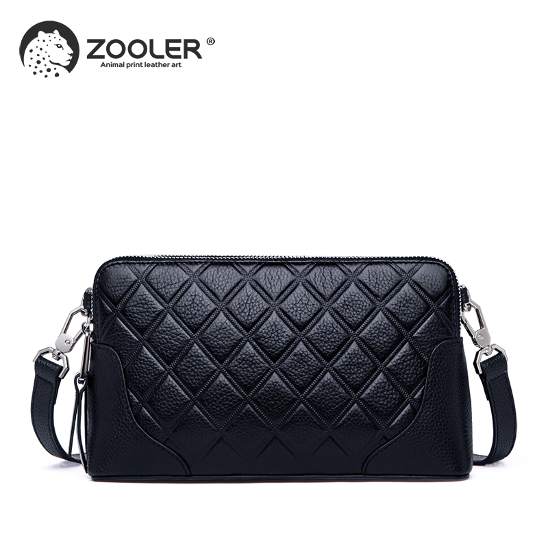 ZOOLER woman leather bags fashion shoulder bag 2019 new woman bag cross body cow leather purse