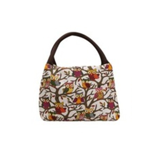 VSEN Hot Owl Thermal Insulated Tote Picnic Lunch Cool Bag Cooler Box Handbag Pouch
