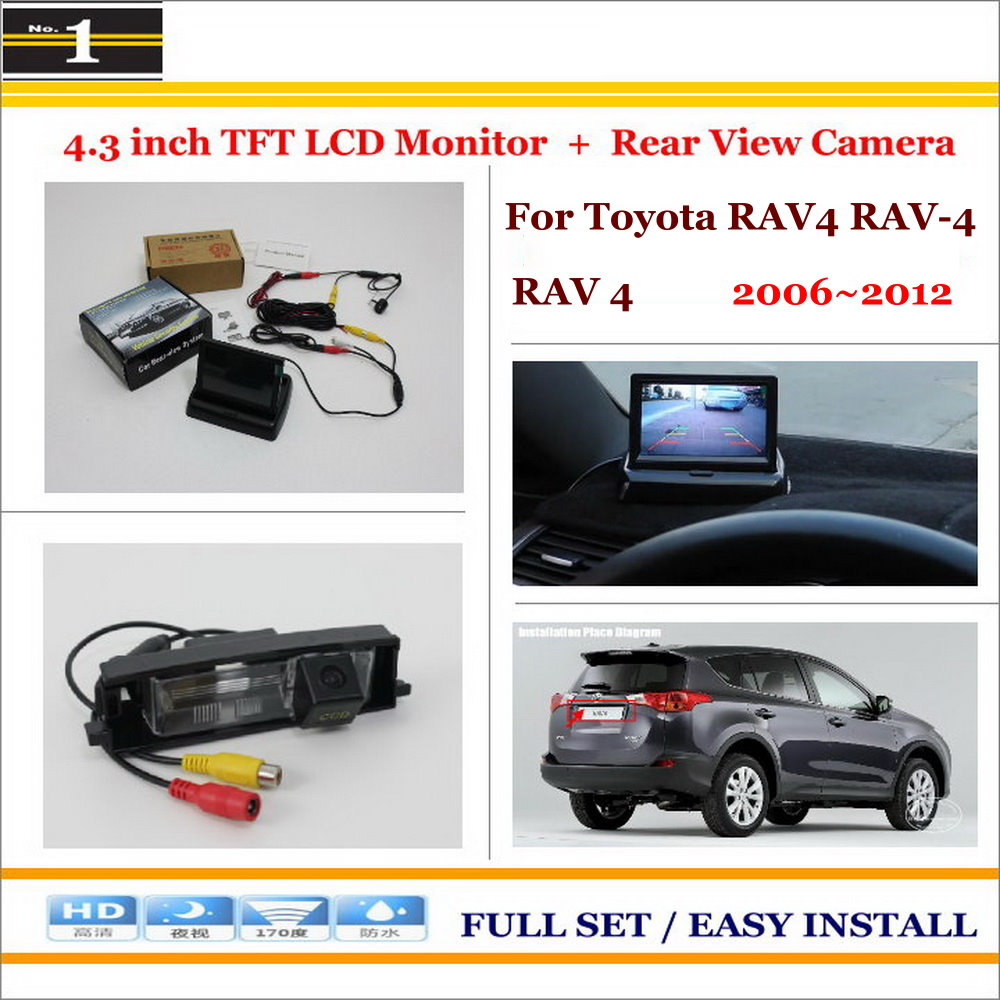 For Toyota RAV4 RAV 4 RAV 4 2006~2012 Auto Back UP Reverse
