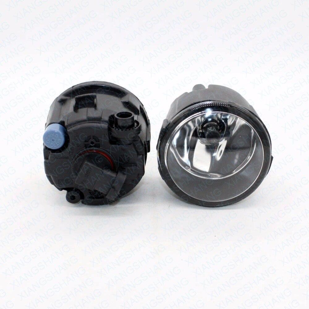 Front Fog Lights For NISSAN X-Trail T31 2007- 2012 2013 2014 Car Styling Right+Left Lamp w/ H11 Halogen 12V 55W Bulb Assembly voennoplennye v shaxterske 31 07 2014