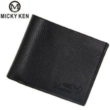 цена на Hot 2019 New Luxury Fashion Designer Brand Men Wallets Pu Leather Wallet Large Capacity Male Pocket Purse With Coin Pocket