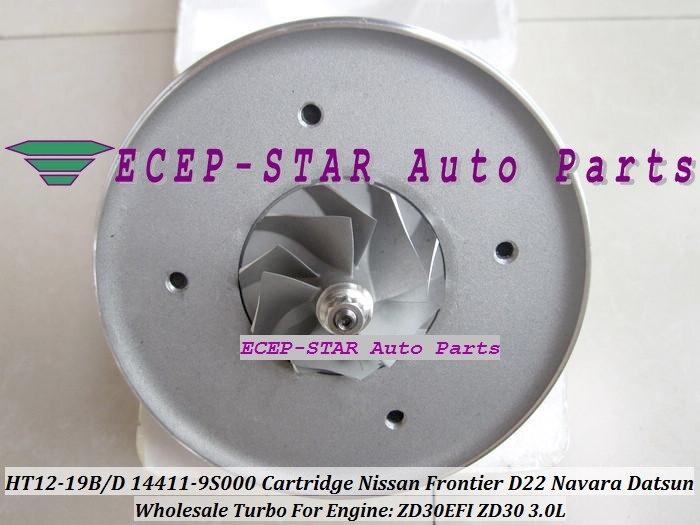 Turbo CHRA Cartouche HT12-19B HT12-19D 14411-9S000 14411-9S002 144119S00 Pour NISSAN FRONTIER D22 Navara Datsun ZD30EFI ZD30 3.0L