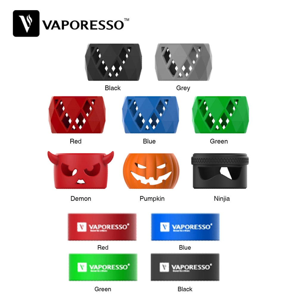 New Original Vaporesso SKRR Tank Replacement Silicone Case for SKRR Sub ohm Tank / Vaporesso Luxe Touch Screen TC Kit with SKRR grille