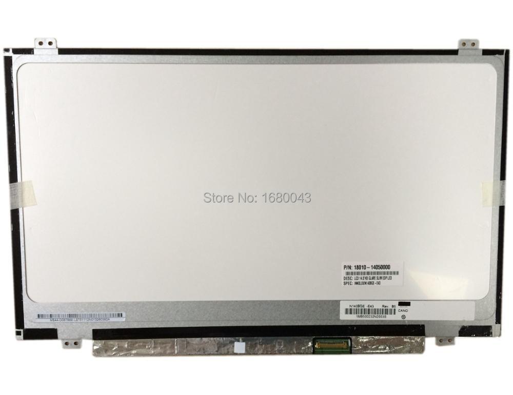 N140BGE-E43 fit N140BGE-E33 N140BGE-EB3 N140BGE-EA3 N140BGE-EA2 LP140WHU (TP) (A1)LP140WH2 TPS1 LTN140AT31 Edp 30 pin new original laptop lcd led 14 0 slim screen glossy b140xtn03 2 n140bge ea2 eb3 e43 hb140wx1 301 501 601 lp140wh2 tp ltn140at3