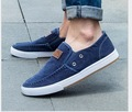 Spring Summer Mens Loafers Canvas Espadrilles Slip on Jogging Shoes All-match Platform Flat Breathable Shoes size 39-44