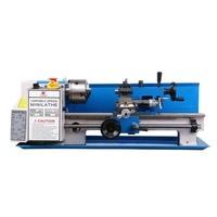 550W Mini Lathe Machine Work Bench Metal Lathes 50 2250RPM High Precision DIY Metalworking CNC Lathe Machine