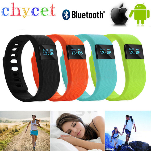 Fitness Tracker Smart band Bluetooth 4.0 Wristband Smart Pedometer Bracelet For iPhone Samsung Smartband TW64 PK Fitbit Mi band