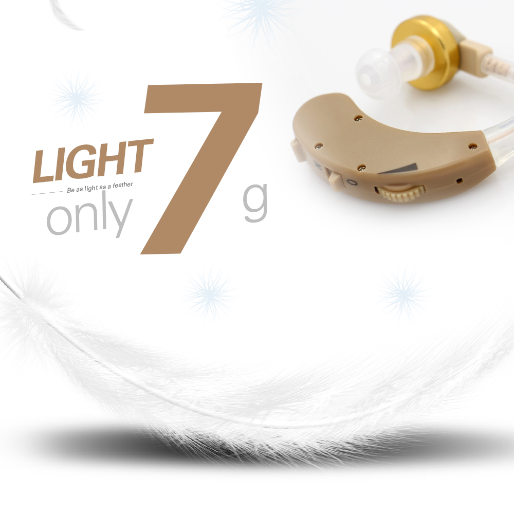Image 3 - Volume Adjustable Small Mini Behind the Ear Best Sound Voice Amplifier Cheap Clear Hearing Aids for The Elderly Deaf Aid Device-in Ear Care from Beauty & Health