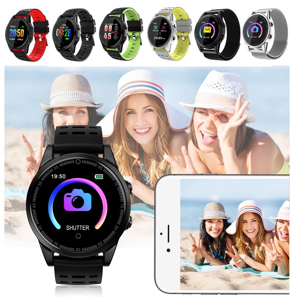 2019 R13 PRO Bracelet intelligent couleur écran sport pression artérielle Bracelet horloge montre fréquence cardiaque bande intelligente montre