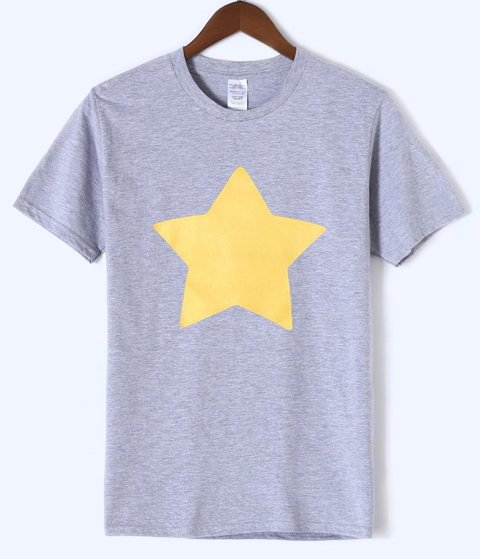 100% Cotton Casual Top Mens   T  -  shirt   STEVEN UNIVERSE STAR 2018 Summer New Fashion Men   T     Shirts   Hipster Short Sleeve Male   Shirt