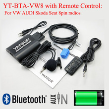BTA Yatour Bluetooth 8pin-Radio AUDI Decorder Music Skoda with Rmoteo-Control for VW