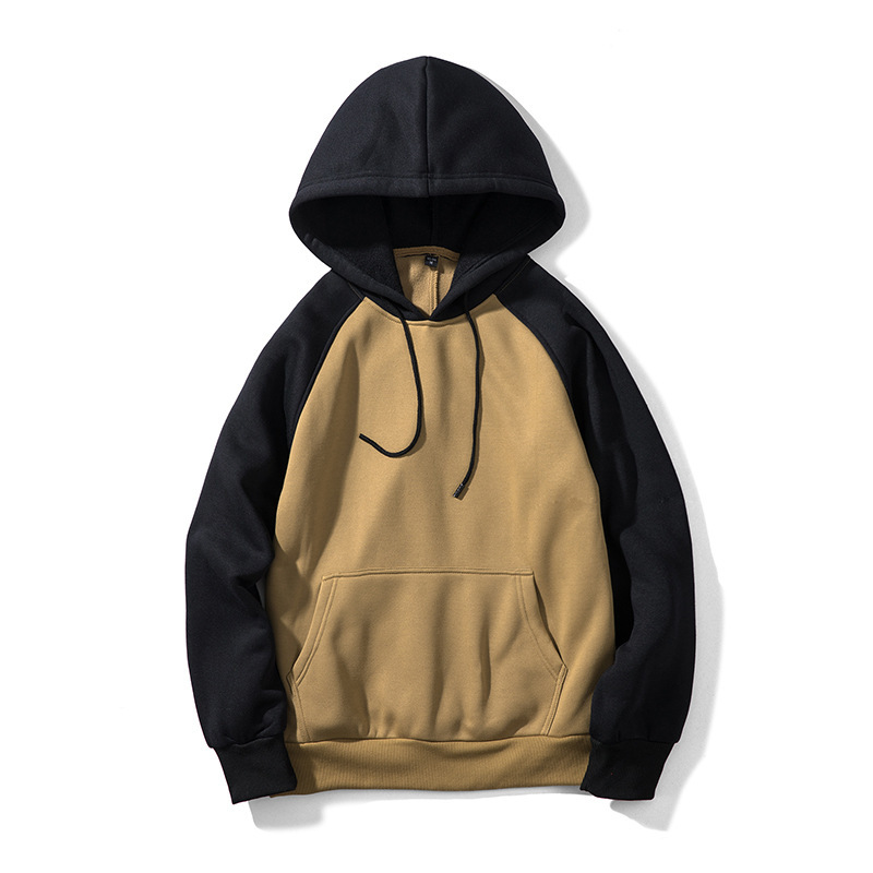ZOGAA 2019 New Fashion Men Hoodie Street Tide Brand Male Hooded Jacket Multi Color Couple Hooded Color Matching Men 39 s Sweatshirt in Hoodies amp Sweatshirts from Men 39 s Clothing