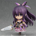 "Free Shipping Anime Figure Cute 4"" Nendoroid Date A Live Yatogami Tohka PVC Action Figure Model Collection Doll Kids Toys #354"