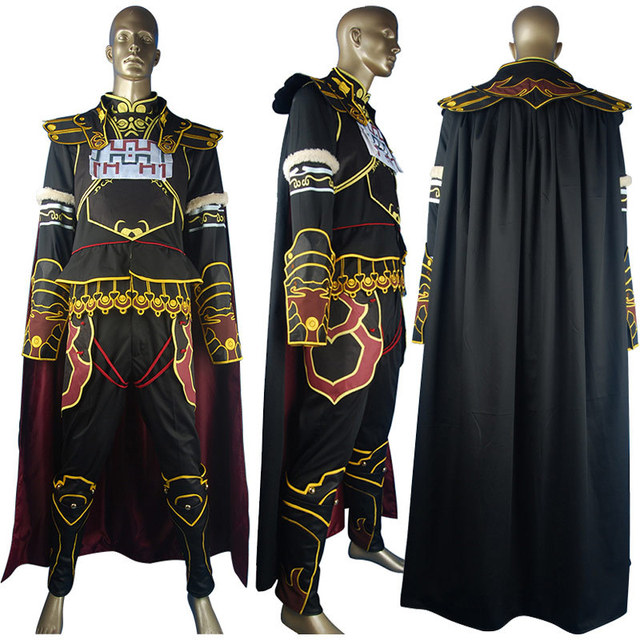 d5400060717 US $169.0 |The Legend of Zelda Ganon Ganondorf Outfit King of Evil Suit  Halloween Anime Comic con Cosplay Costume Men Adults-in Game Costumes from  ...