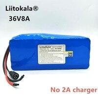 HK Liitokala 36 В V 8ah bateria DE Alta's capacitonidade pacote DE Massa + В набор 42 V 2A
