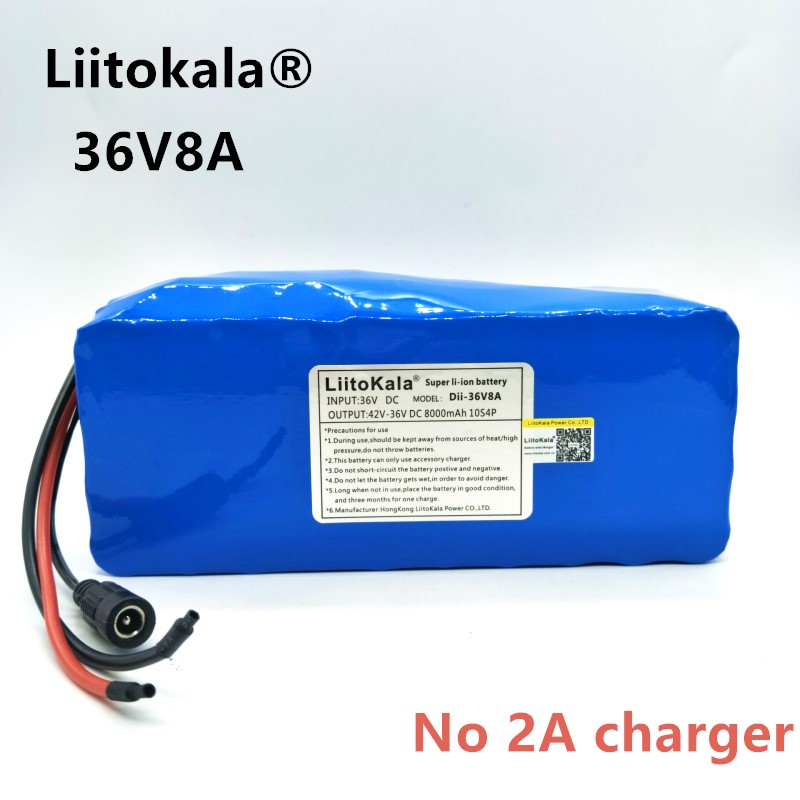 HK Liitokala 36 V 8ah bateria DE Altas capacitonidade pacote DE Massa + nao incluem 42 V 2A chagerHK Liitokala 36 V 8ah bateria DE Altas capacitonidade pacote DE Massa + nao incluem 42 V 2A chager