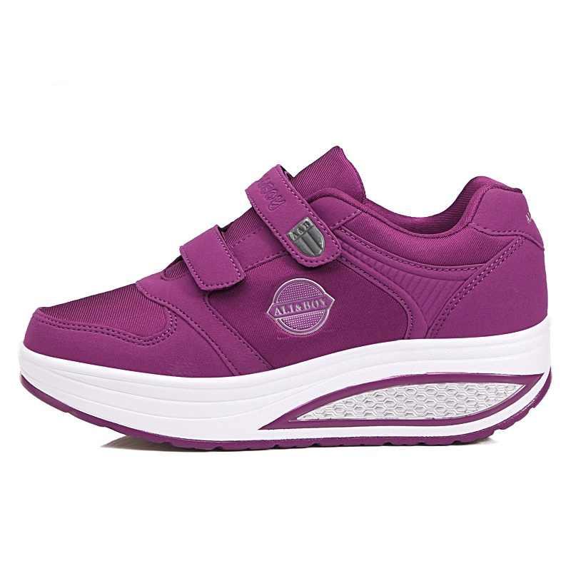 2018 г., 4 цвета, весенняя обувь, женская обувь на платформе, женская обувь для фитнеса, женская обувь для похудения