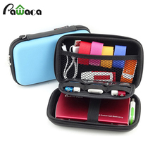 Waterproof  Portable Digital Accessories Travel Storage Bag For Earphone U Disk SD Card Data Cable Phone Power Bank Organizer