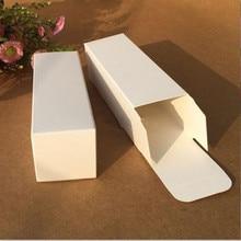 Perfume Kraft-Paper-Box Bottle Package White Valve-Tube Lipstick Essential-Oil Blank