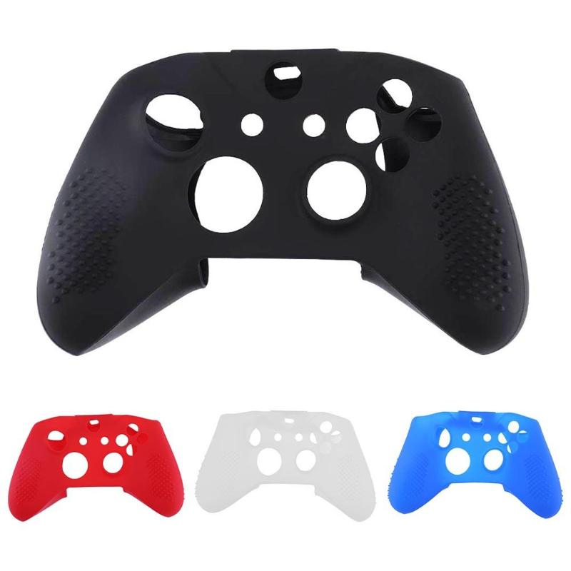 Soft Silicone Game Controller Protective Skin Case Cover Game Console Protector Cases for XBox One X Slim Gamepad