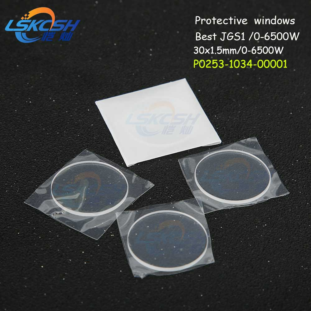 Lskcsh 25pcs/lot Laser Protection Windows Og D30 D1.5 Precitec Laser Protection Window/protective Lens P0253-1034-00001 Prima Relieving Heat And Sunstroke Back To Search Resultstools