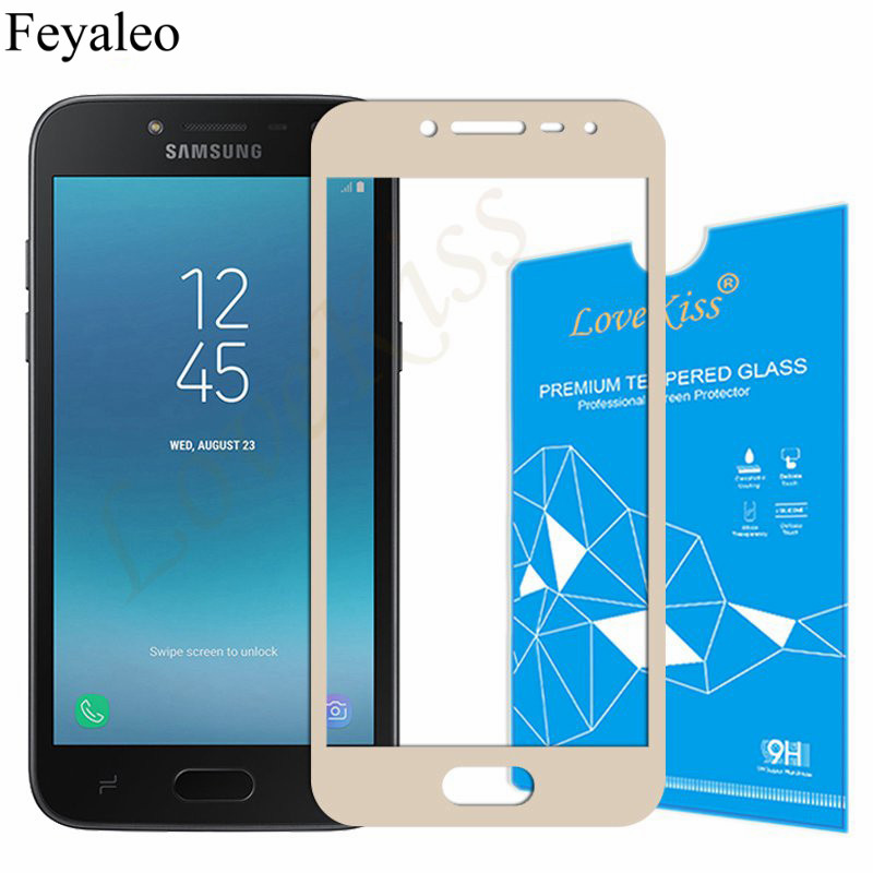 Full Cover Tempered Glass For Samsung Galaxy J2 Prime Screen