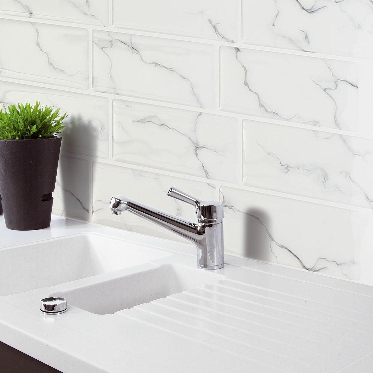 Online get cheap kitchen wall tile aliexpresscom for Cheap wall tiles for bathroom
