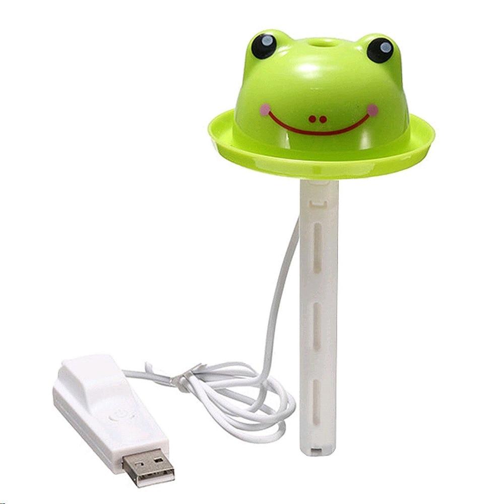 Mini Cartoon USB Air Humidifier Bottle Cap Aroma Essential Oil Diffuser Humidificador Humidifier For Home Car Portable
