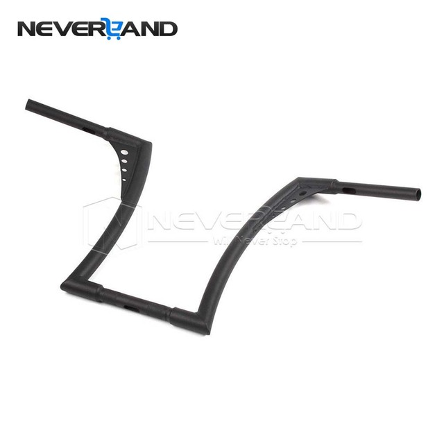 Neverland 1 14 Devil Ape Bars Matte Black Motorcycle Handlebars