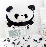 Petit mignon en peluche panda jouet rond graisse panda poupée cadeau environ 20 cm