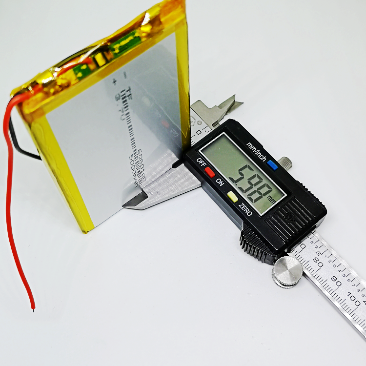 <font><b>6060100</b></font> polymer lithium battery 3.7V mobile power charging treasure general 5V rechargeable ultra-thin large capacity image