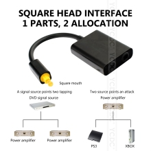 Hot New SPDIF/Toslink Digital Optical Audio Splitter Toslink Switcher Adapter SP