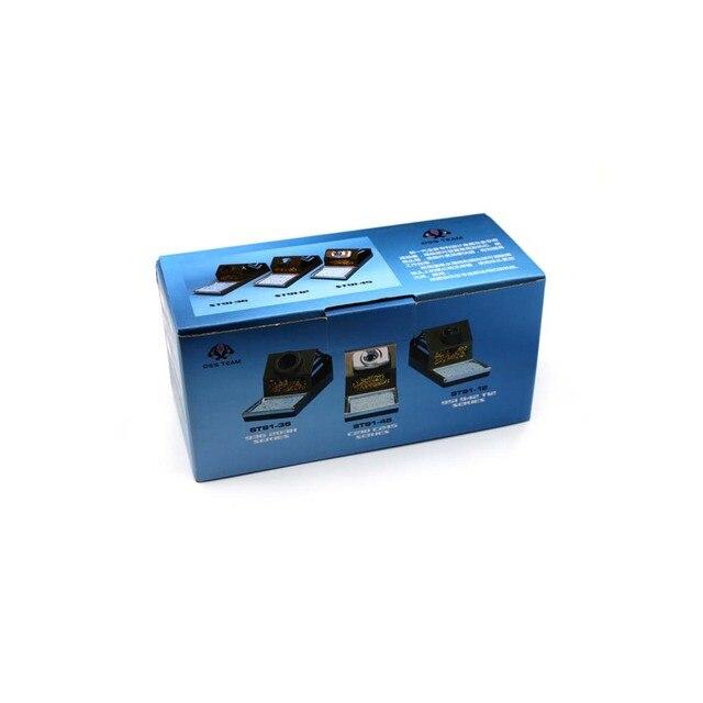 Support de cadre de fer à souder en métal antistatique T12 Support de poignée de fer à souder multifonctionnel