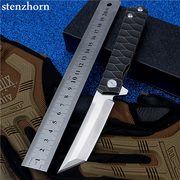 Stenzhorn 2017 New Camping Knife Steel Bearing Handle Outdoor Self-defense Folding with High Hardness Survival Mountain Fruit  цены